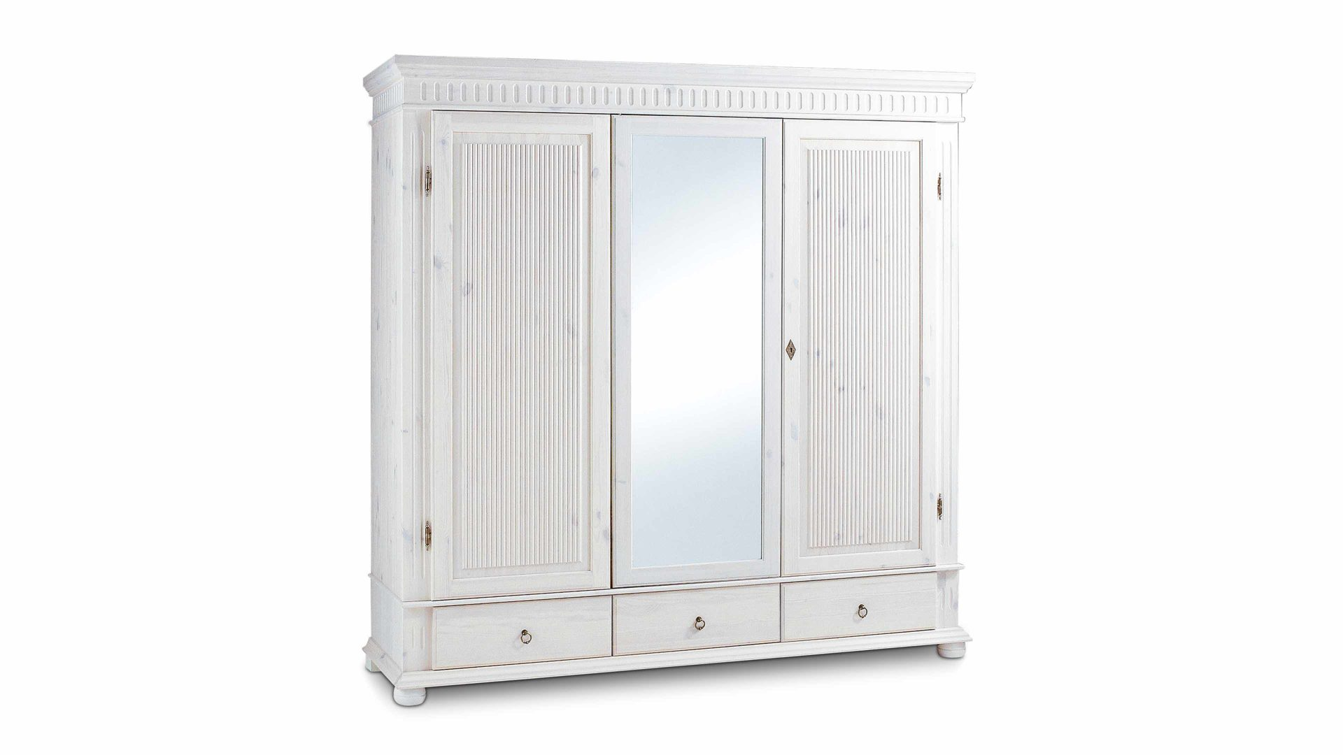Möbel Hermes , Landhaus-Kleiderschrank, ein Einzelschrank im ...